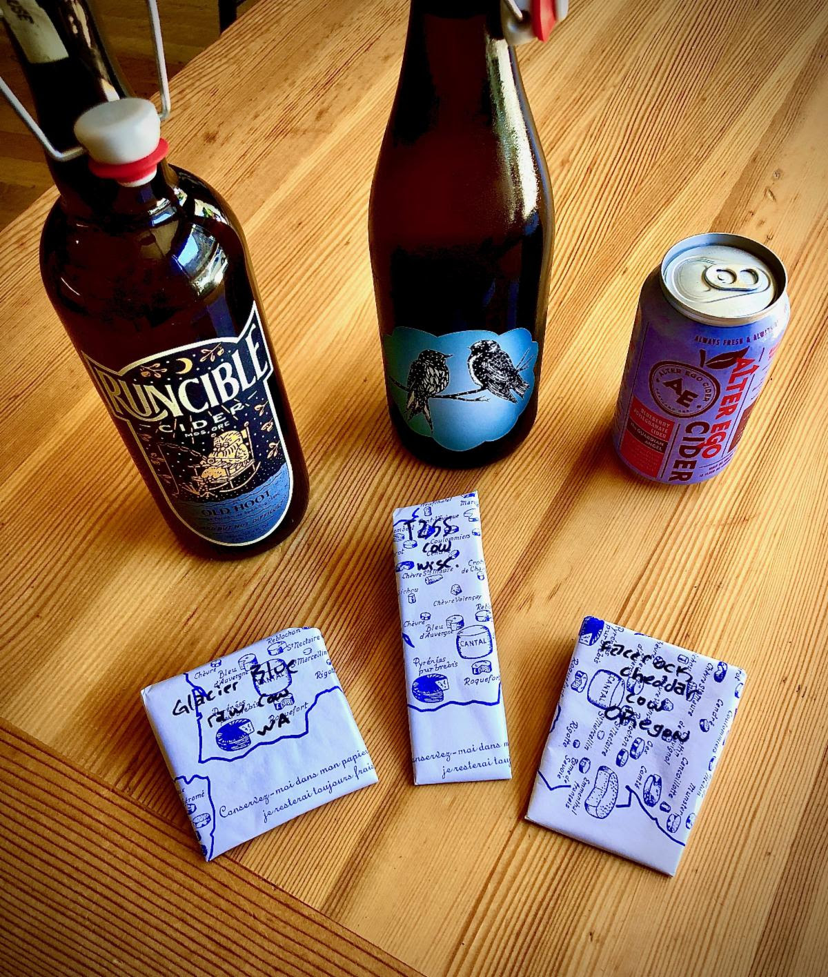 Cheese & Cider For All – Oregon Cider Week Pairing Class (image courtesy of Cheese Bar)