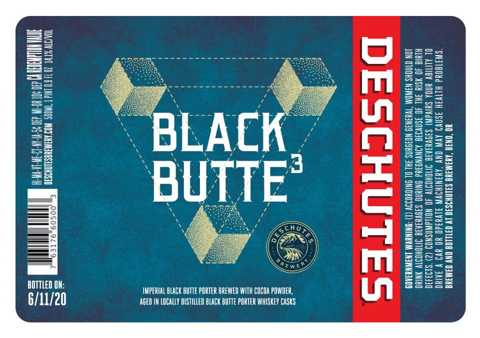 Deschutes Brewery Black Butte3 Label