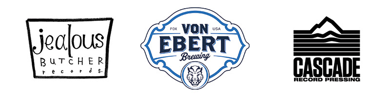 Fort George Brewery Presents The 45 Series with Cascade Record Pressing, Von Ebert Brewing and Jealous Butcher Records