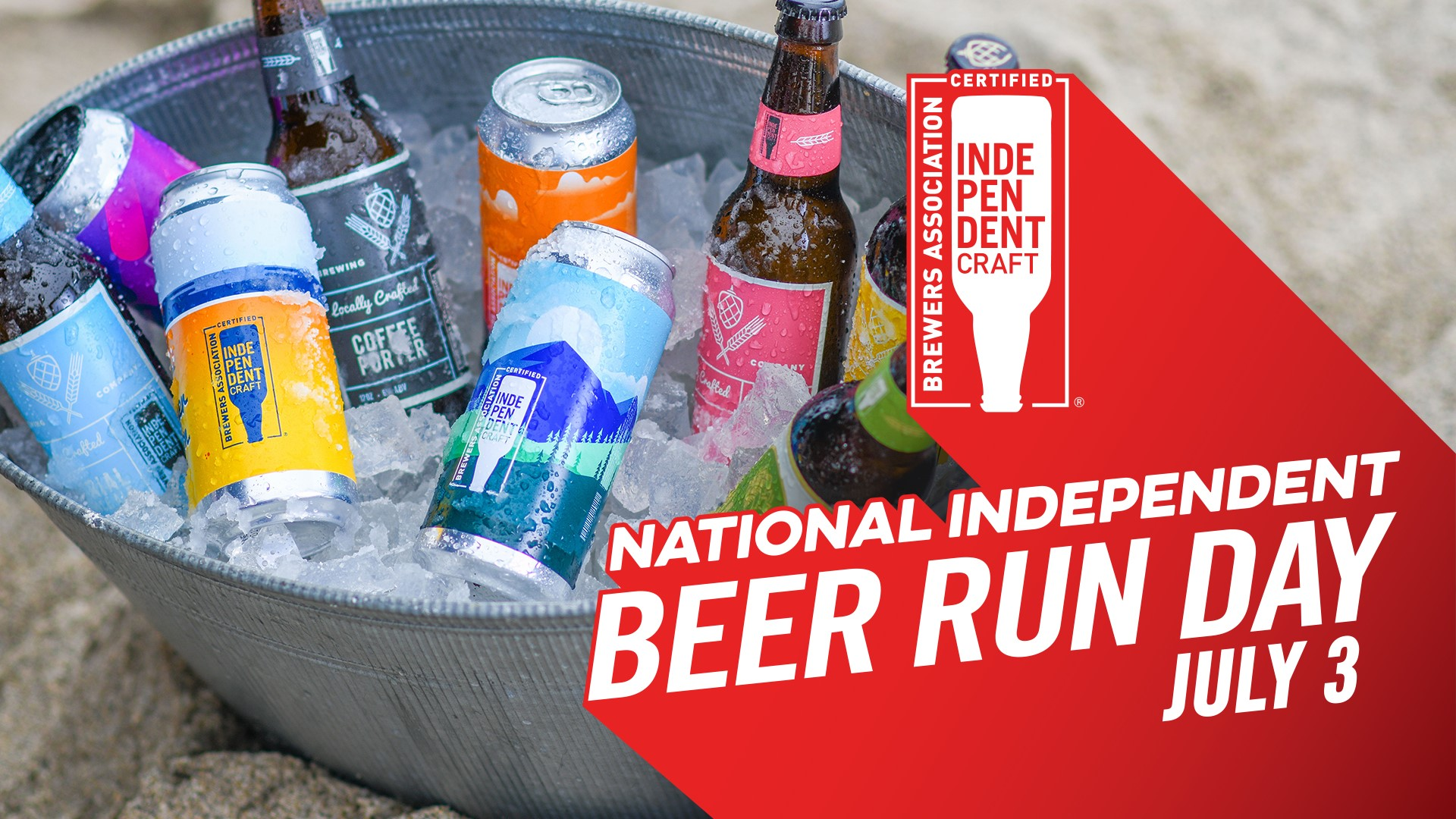 National Independent Beer Run Day - July 3, 2020