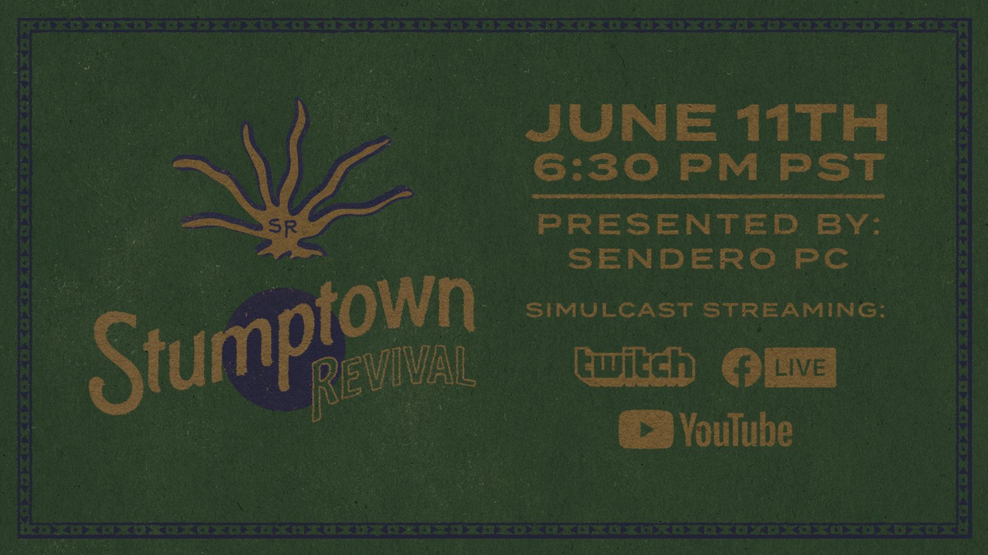 Stumptown Revival: A Live Stream Benefit Concert - June 11, 2020