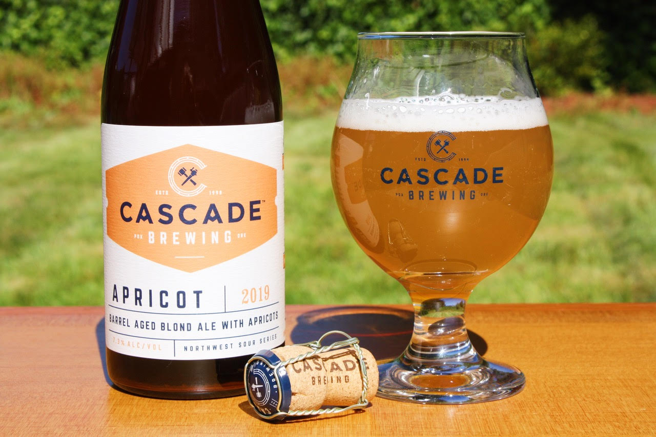 image of Apricot 2019 courtesy of Cascade Brewing