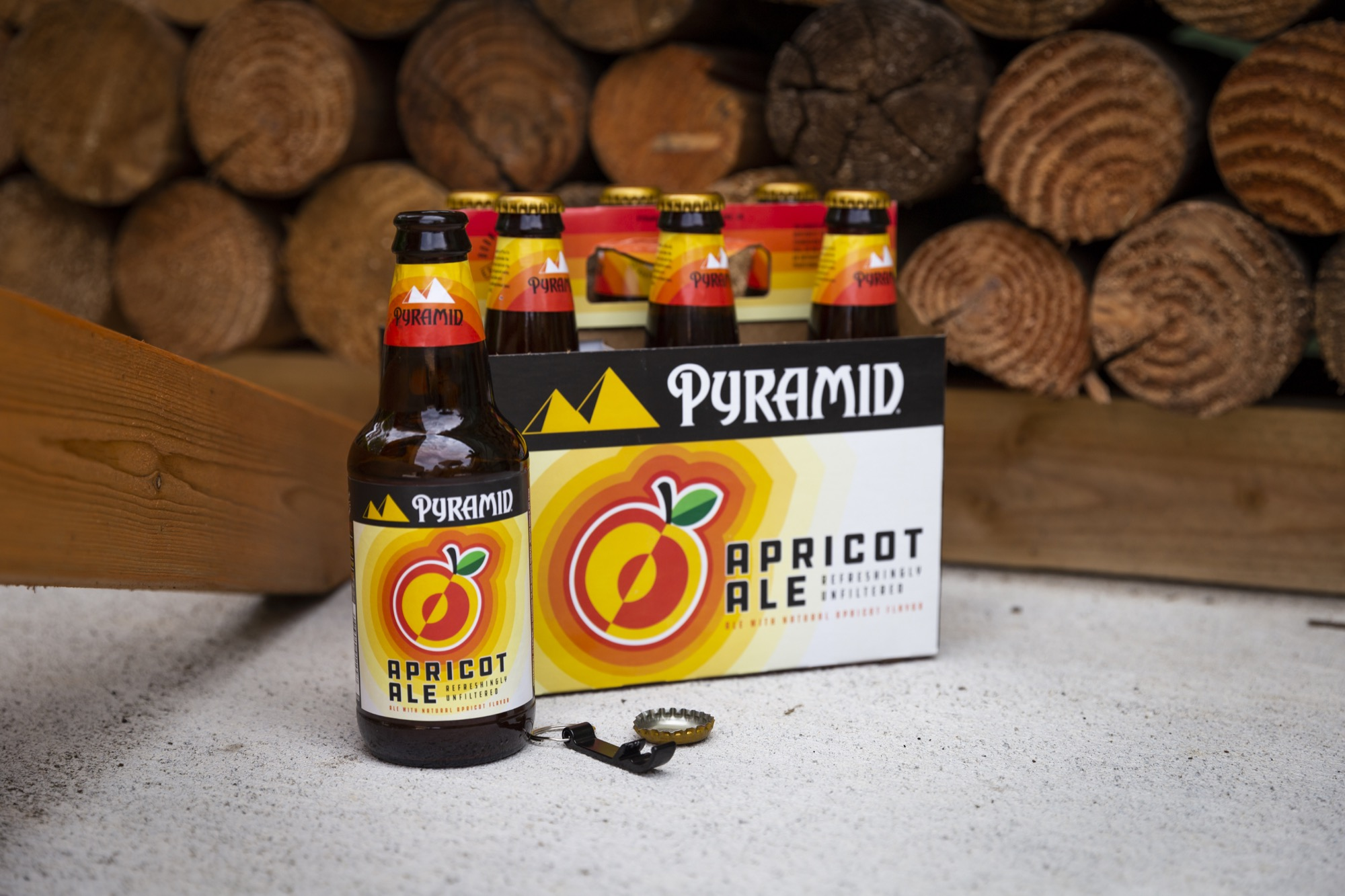 image of Apricot Ale courtesy of Pyramid Brewing