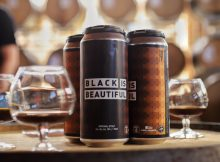 image of Black Is Beautiful Imperial Stout courtesy of Fort George Brewery