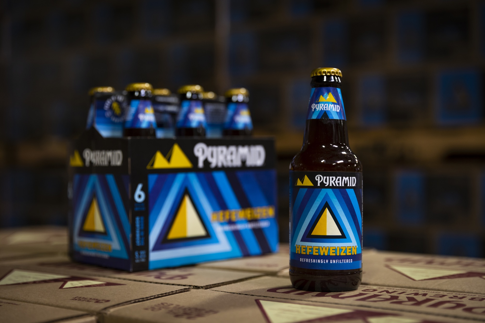 image of Hefeweizen courtesy of Pyramid Brewing