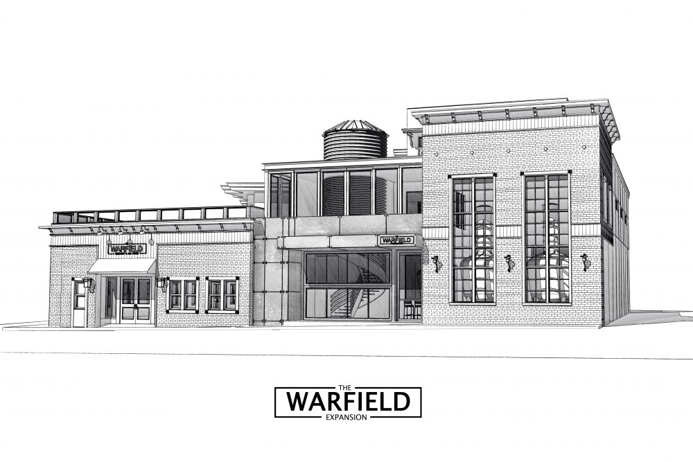 image of Warfield Distillery & Brewery rendering courtesy of Warfield Distillery & Brewery