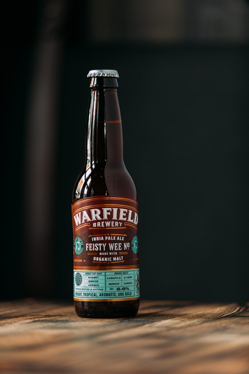 image of Warfield IPA courtesy of Warfield Distillery & Brewery