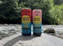 Costa Brava Cocktails in a can features two flavors - Vodka & Cranberry and Lemon Drop.