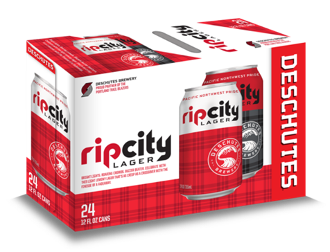 Deschutes Brewery + Portland Trail Blazers Rip CIty Lager 24-Pack
