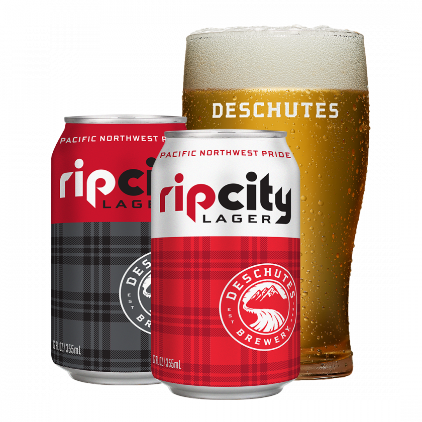 Deschutes Brewery + Portland Trail Blazers Rip CIty Lager