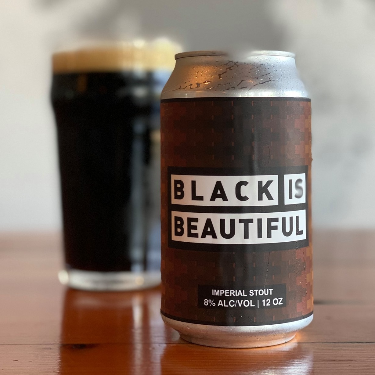 image of Black Is Beautiful Imperial Stout courtesy of Migration Brewing