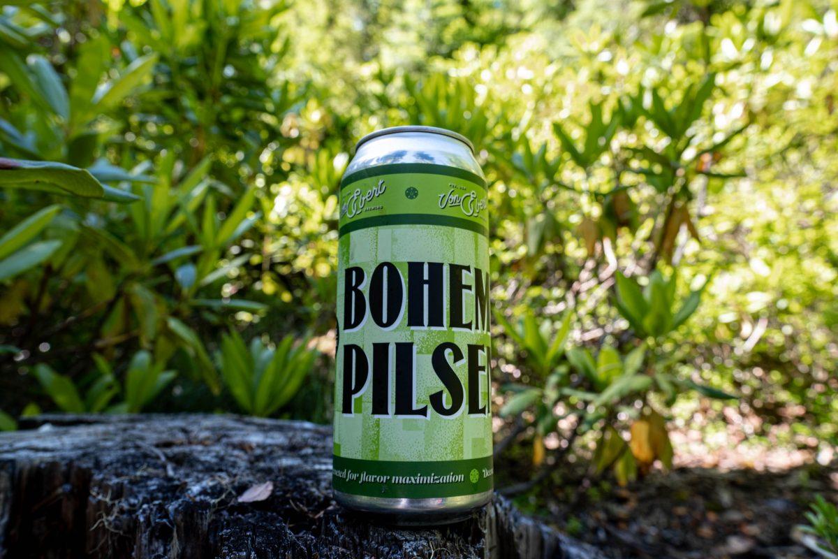 image of Bohemian Pilsener courtesy of Von Ebert Brewing