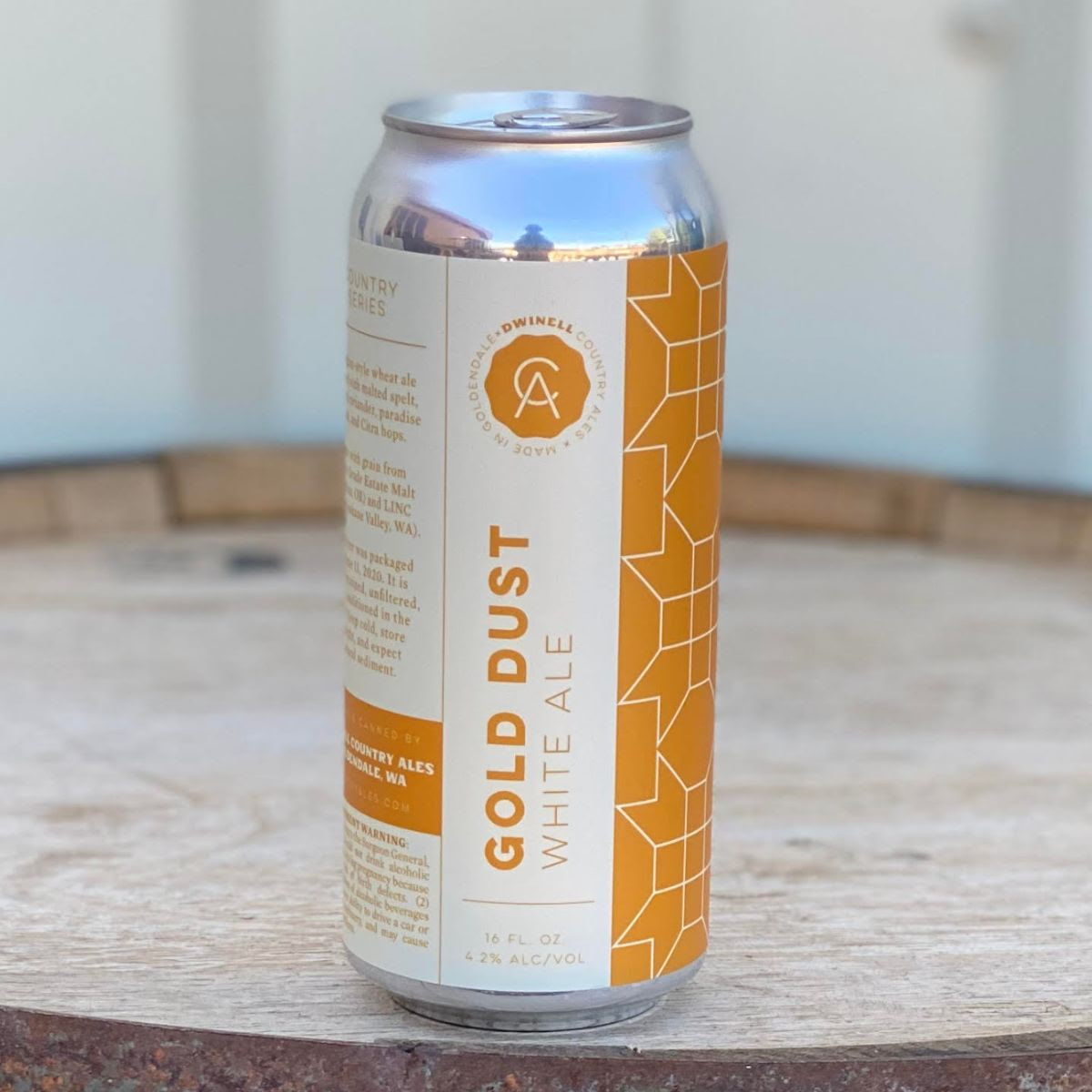 image of Gold Dust courtesy of Dwinell Country Ales