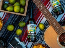 image of Good Limes Roll Agave Lime Cider courtesy of 2 Towns Ciderhouse