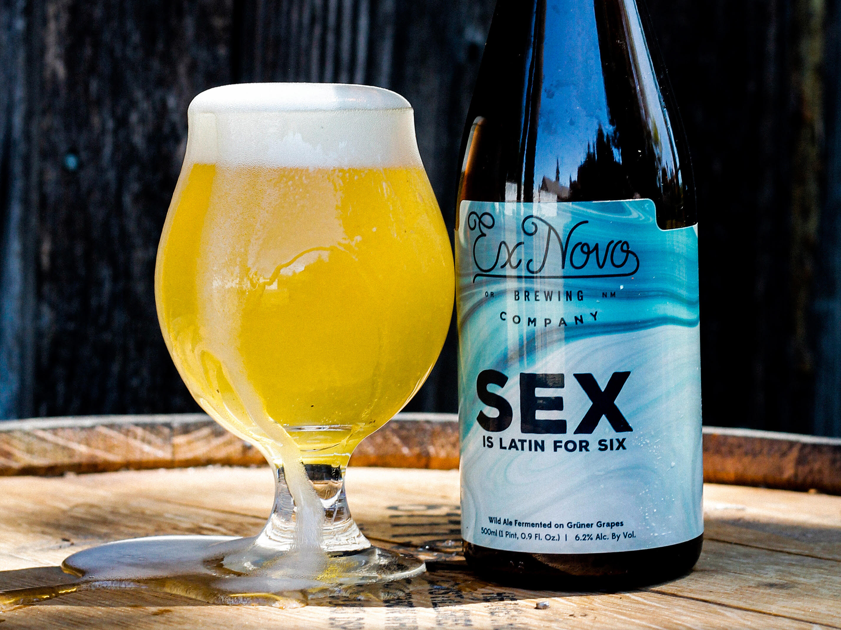 image of Sex courtesy of Ex Novo Brewing