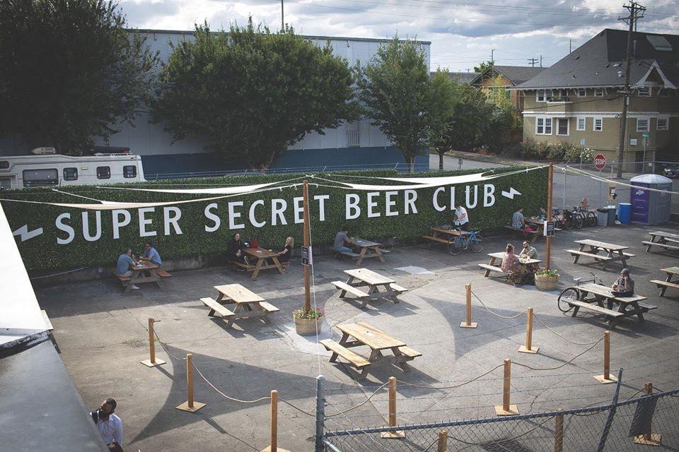 image of Super Secret Beer Club courtesy of Baerlic Brewing