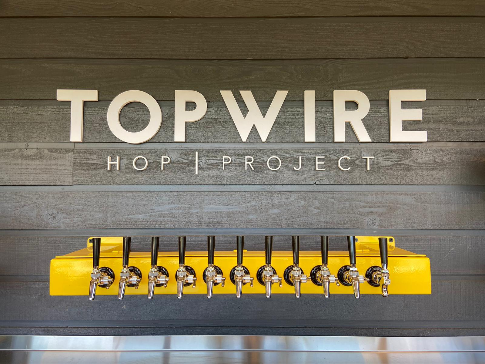 image of draft handles courtesy of TopWire Hop Project