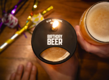 image of the 10 Barrel Brewing Birthday Beer courtesy of 10 Barrel Brewing