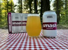 10 Barrel Brewing Smash Passionfruit Wheat Ale.
