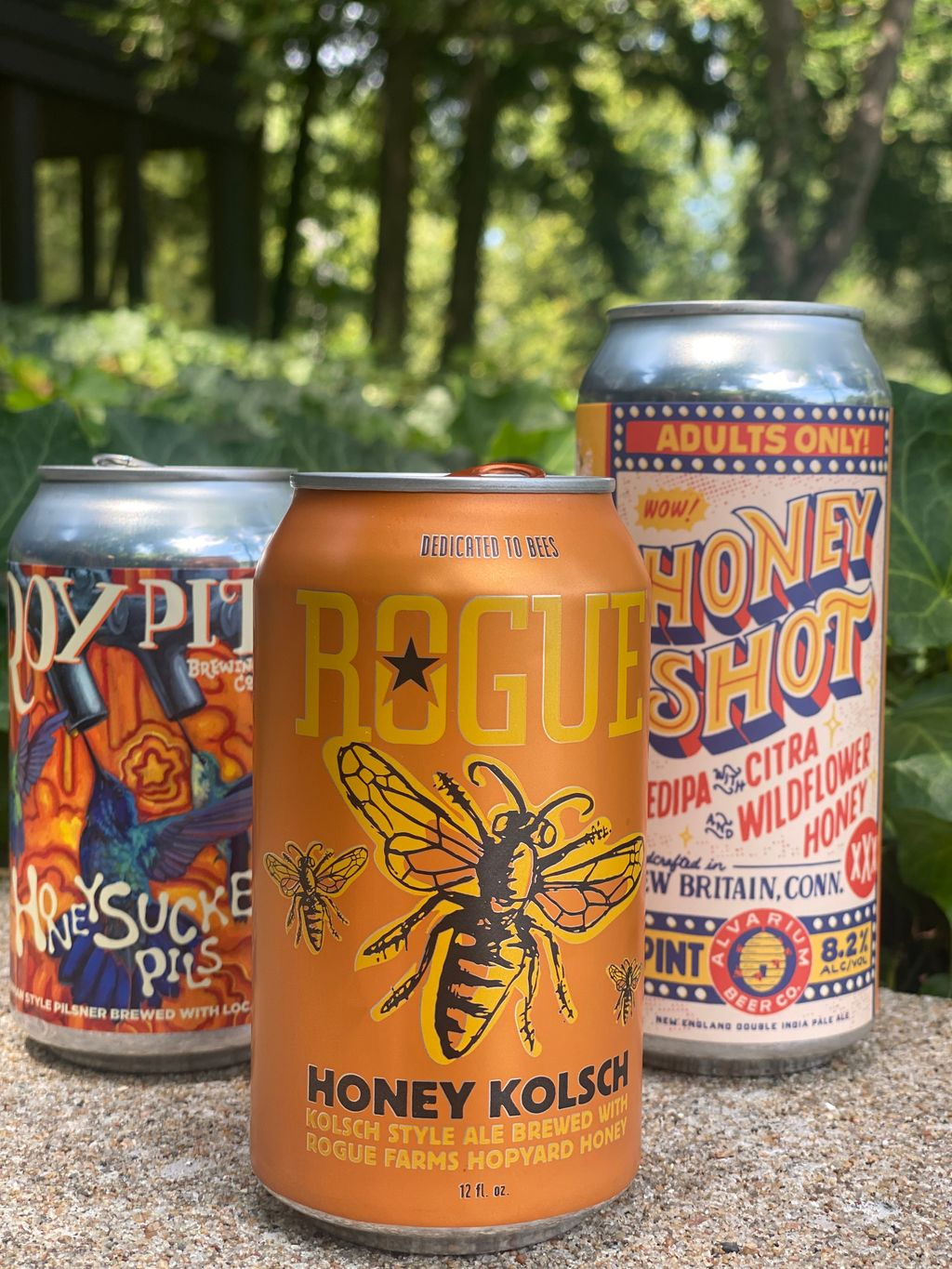 Honey Kolsch from Rogue Ales & Spirits wins gold at the annual Honey Beer Competition. (image courtesy of the National Honey Board)