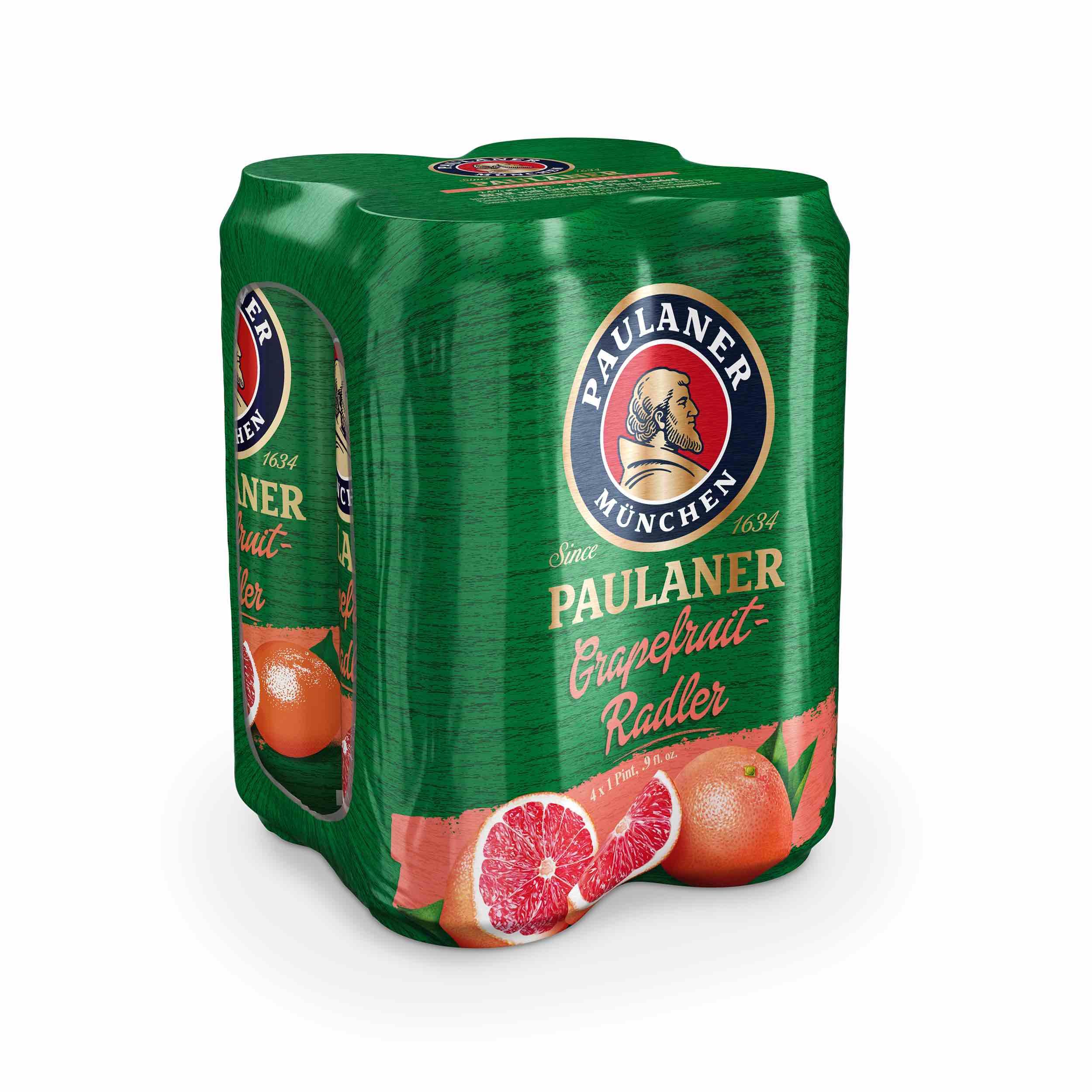 Paulaner Grapefruit Radler 4-pack.