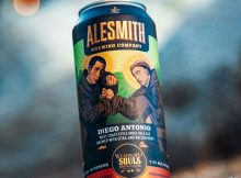 image of AleSmith Brewing and Weathered Souls Brewing Diego Antonio IPA courtesy of AleSmith Brewing