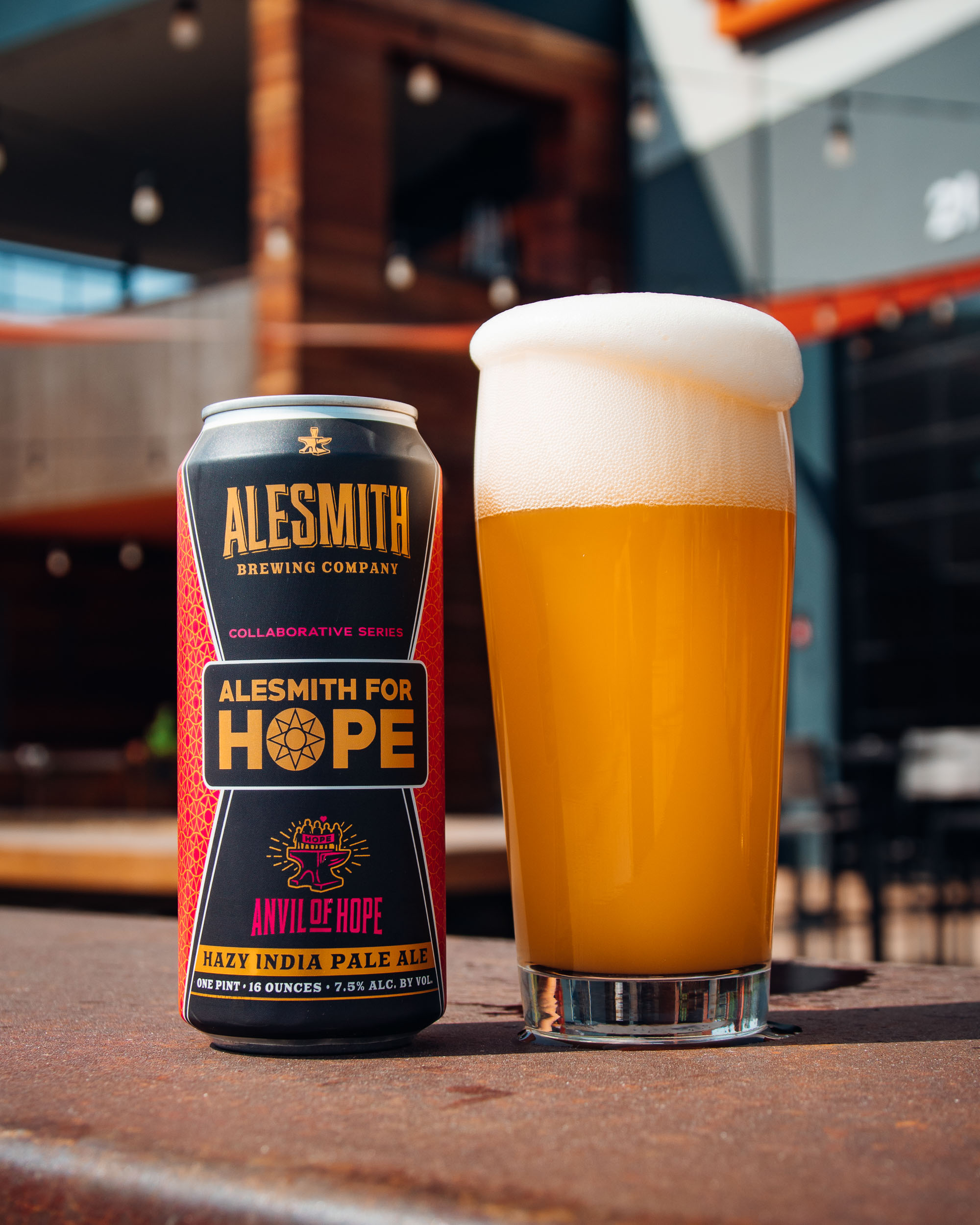 image of AleSmith For Hope courtesy of AleSmith Brewing