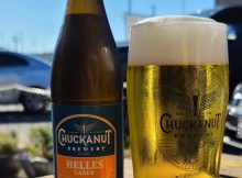 image of Chuckanut Helles Lager courtesy of Chuckanut Brewery
