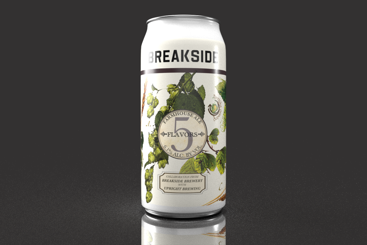 image of Five Flavors - 10-Year Anniversary Series courtesy of Breakside Brewery