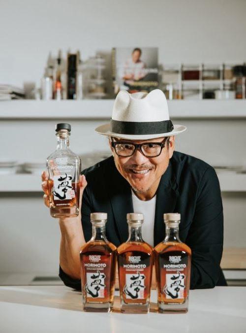 image of Iron Chef Masaharu Morimoto courtesy of Rogue Ales & Spirits