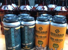 image of Oktoberfresh and Fresh Hop Zoigl-Kolsch courtesy of Zoiglhaus Brewing