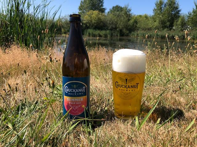 image of Summer Pale Ale courtesy of Chuckanut Brewery