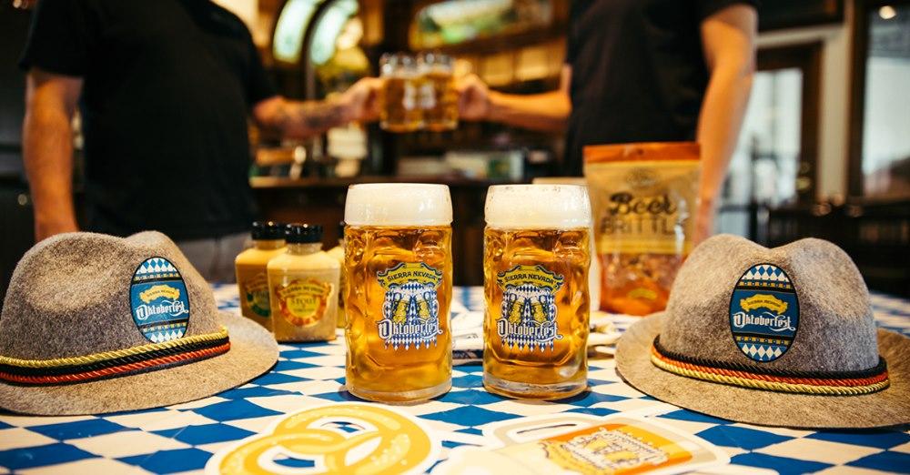 Celebrate Oktoberfest with SIerra Nevada Brewing....virtually in 2020. (image courtesy of Sierra Nevada Brewing Co.)