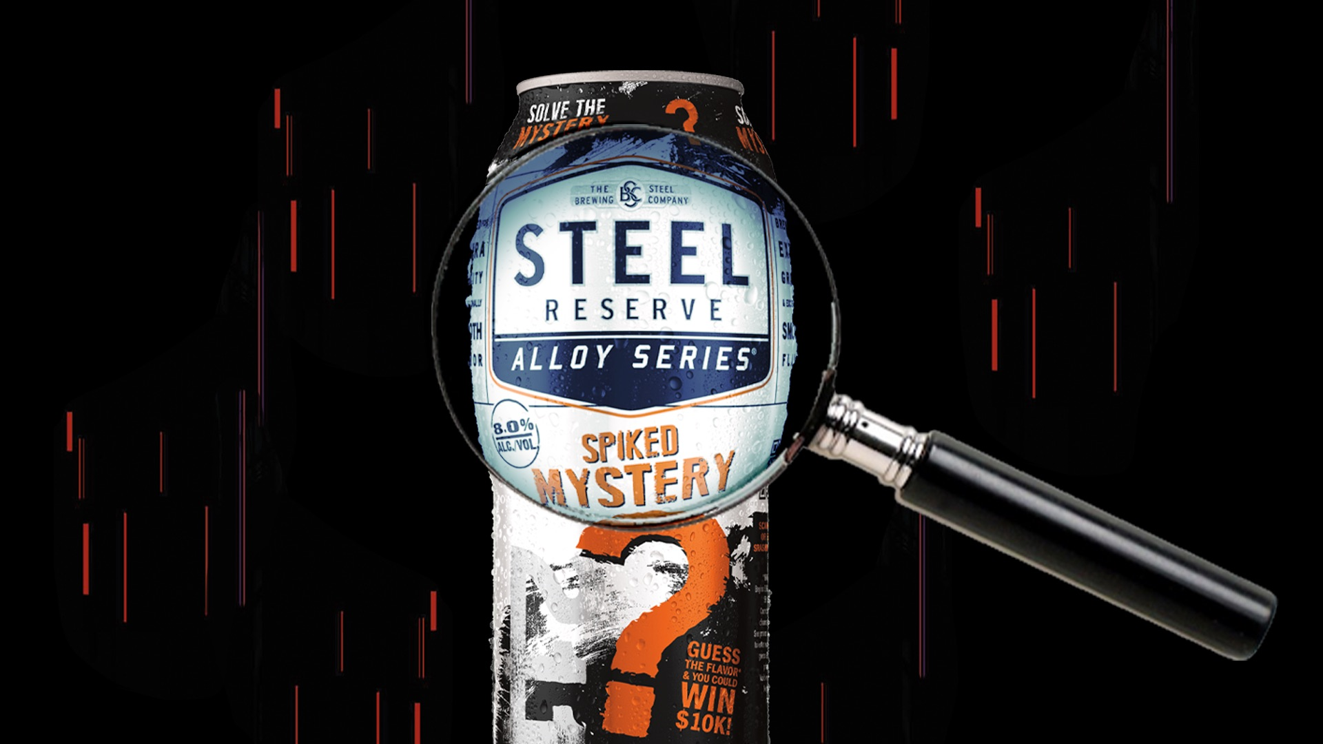 Steel Reserve Alloy Series Mystery Can