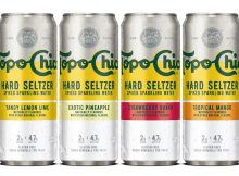 Topo Chico Hard Seltzer will arrive in the United States in 2021 from The Coca-Cola Company via Molson Coors Beverage Company