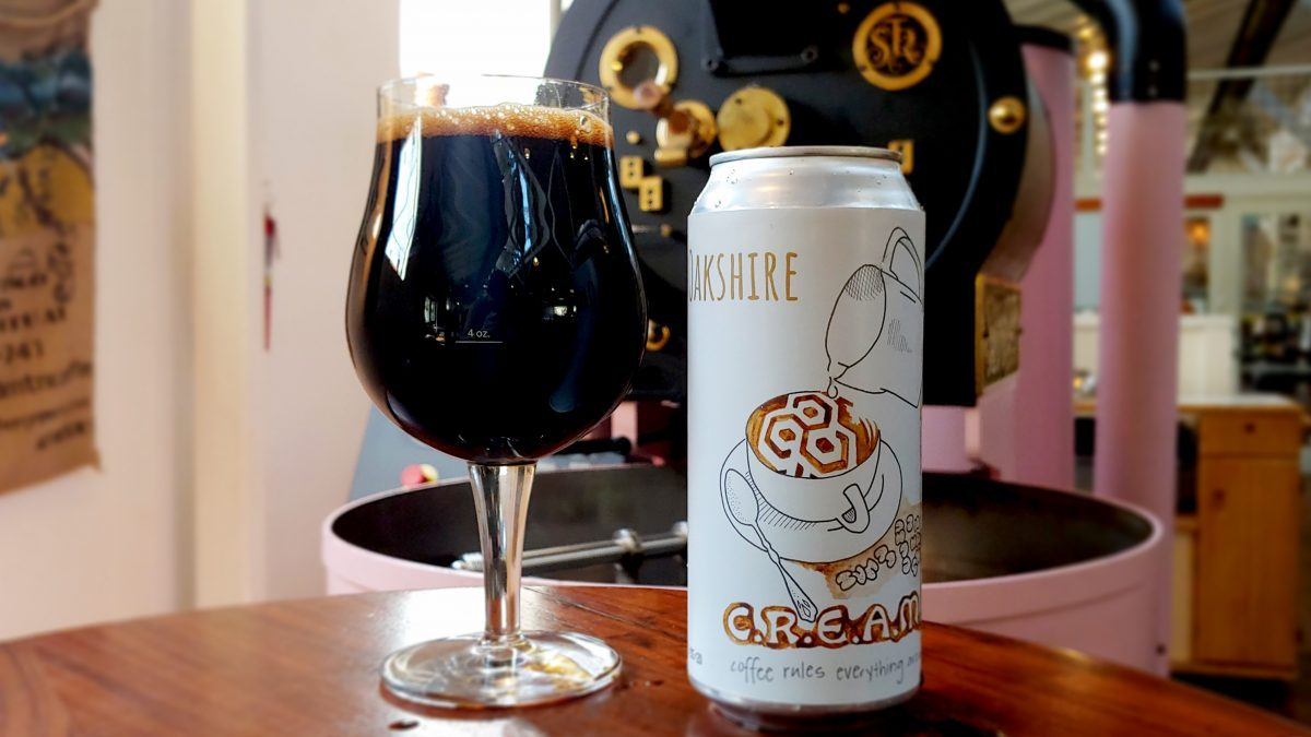 image of Barrel-Aged C.R.E.A.M. Imperial Stout courtesy of Oakshire Brewing