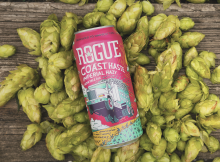 image of Coast Haze Fresh Hop Imperial Hazy IPA courtesy of Rogue Ales & Spirits