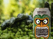 image of Fresh Hop Abominable courtesy of Hopworks Urban Brewery