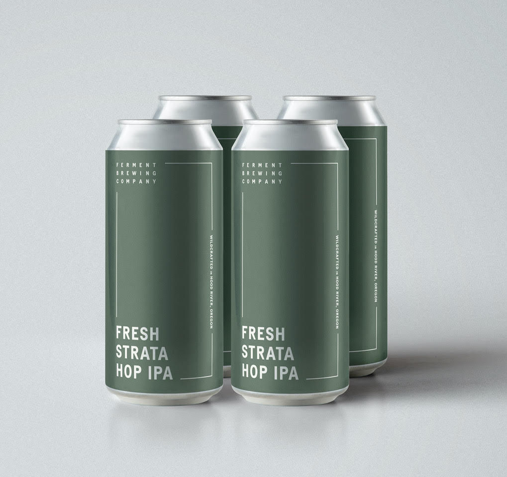 image of Fresh Hop Strata Hop IPA courtesy of Ferment Brewing Co.