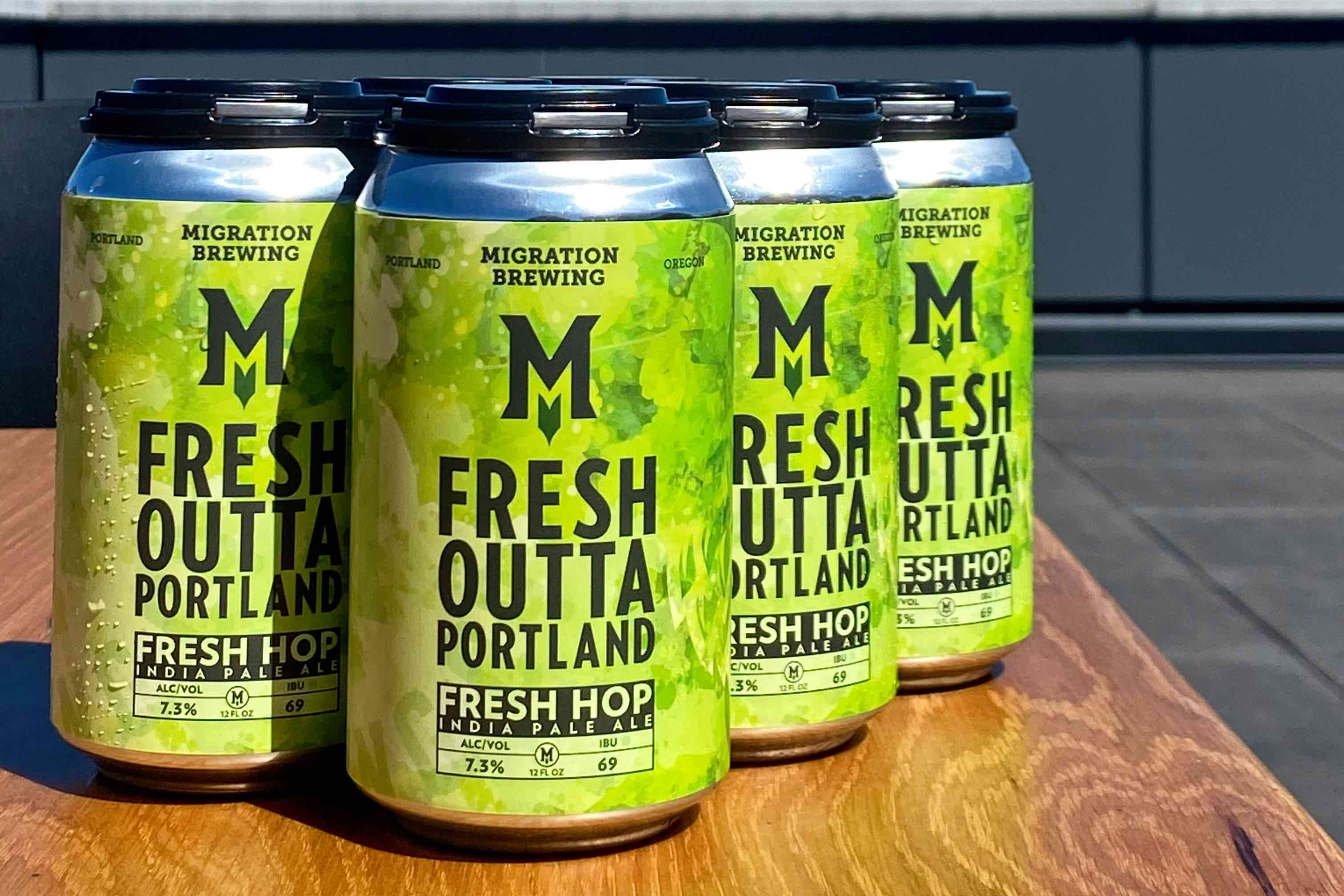 image of Fresh Outta Portland courtesy of Migration Brewing