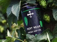 image of Pert Near Fresh Hop IPA courtesy of Crux Fermentation Project