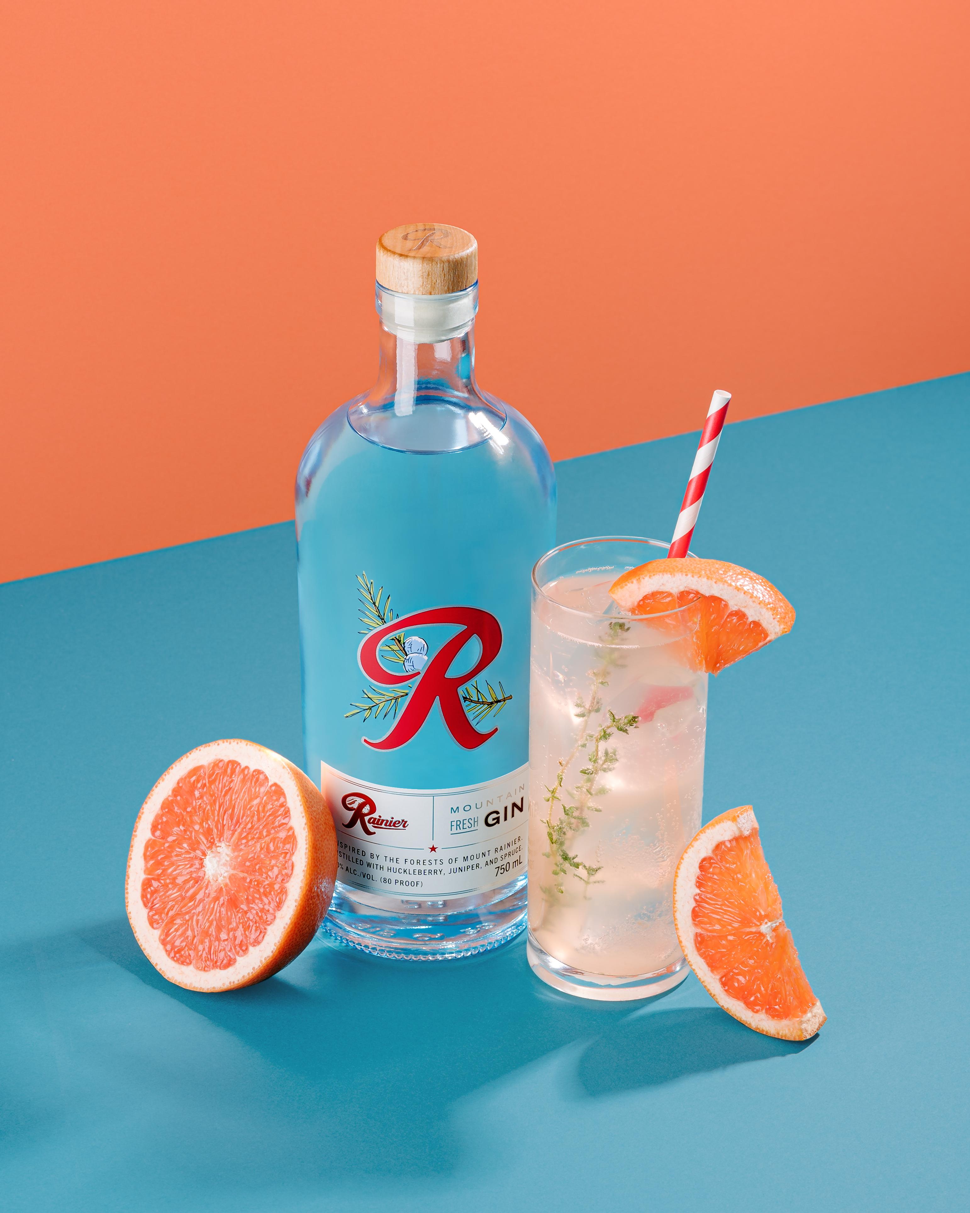 image of Rainier Mountain Fresh Gin Spritz courtesy of Rainier Beverage Company