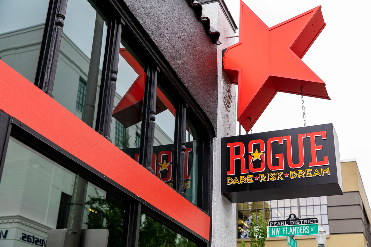 image of Rogue Pearl Public House courtesy of Rogue Ales & Spirits