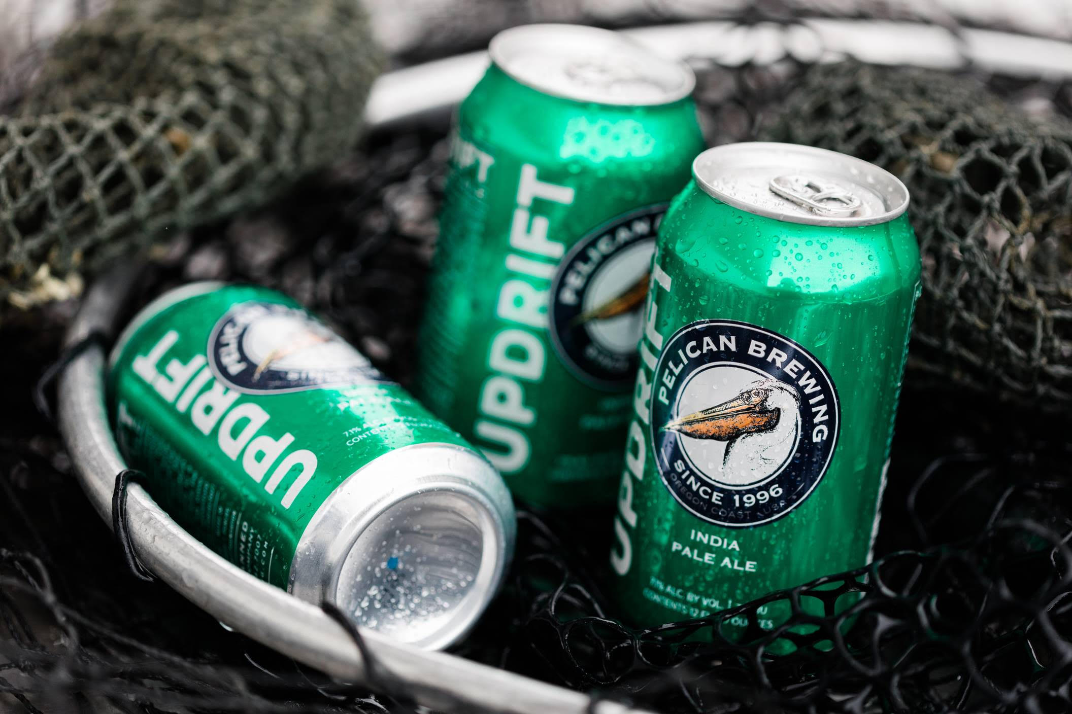 image of Updrift India Pale Ale courtesy of Pelican Brewing