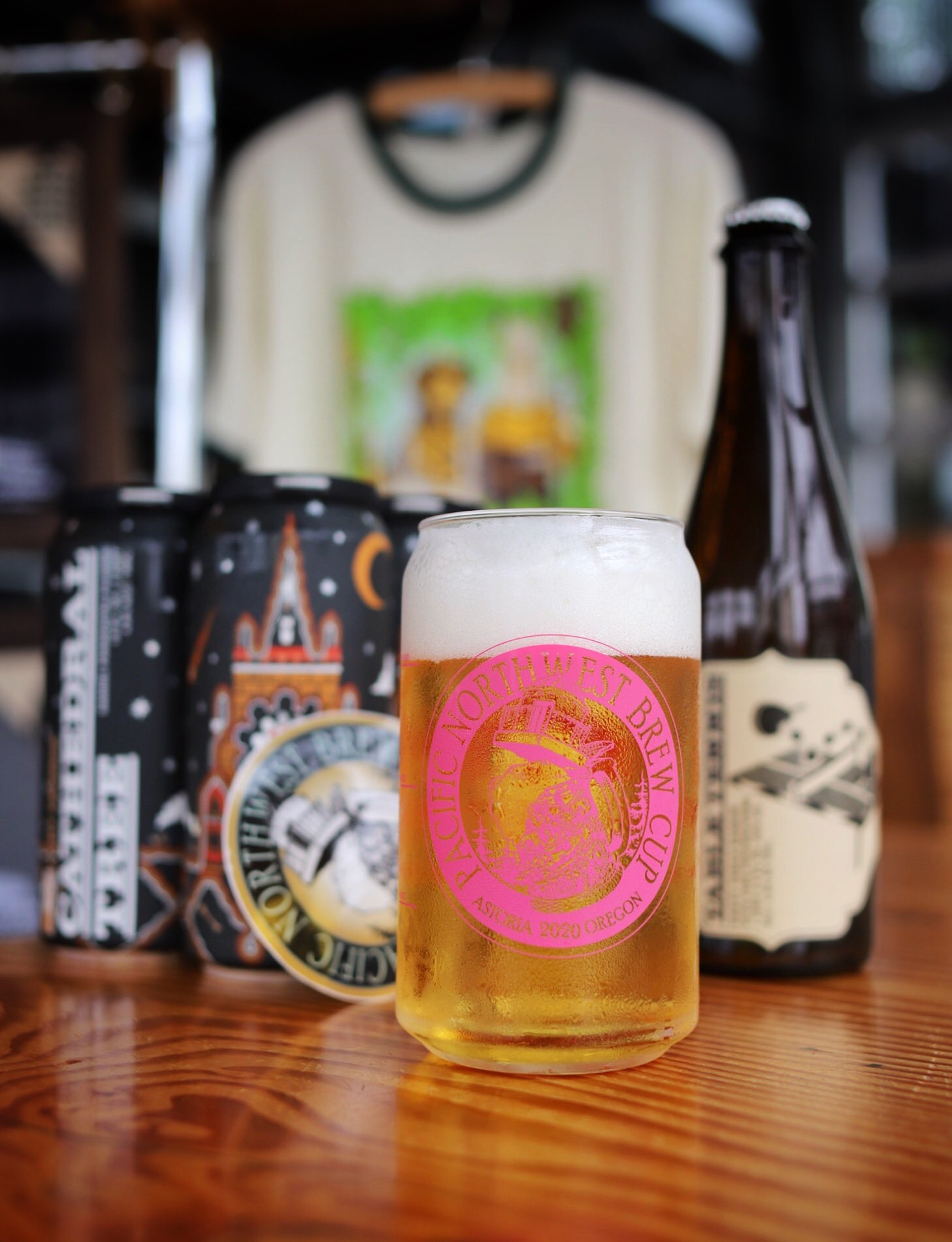 image of the Pacific Northwest Brew Cup courtesy of Fort George Brewery