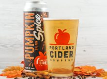 image of Pumpkin Spice Cider courtesy of Portland Cider Co.