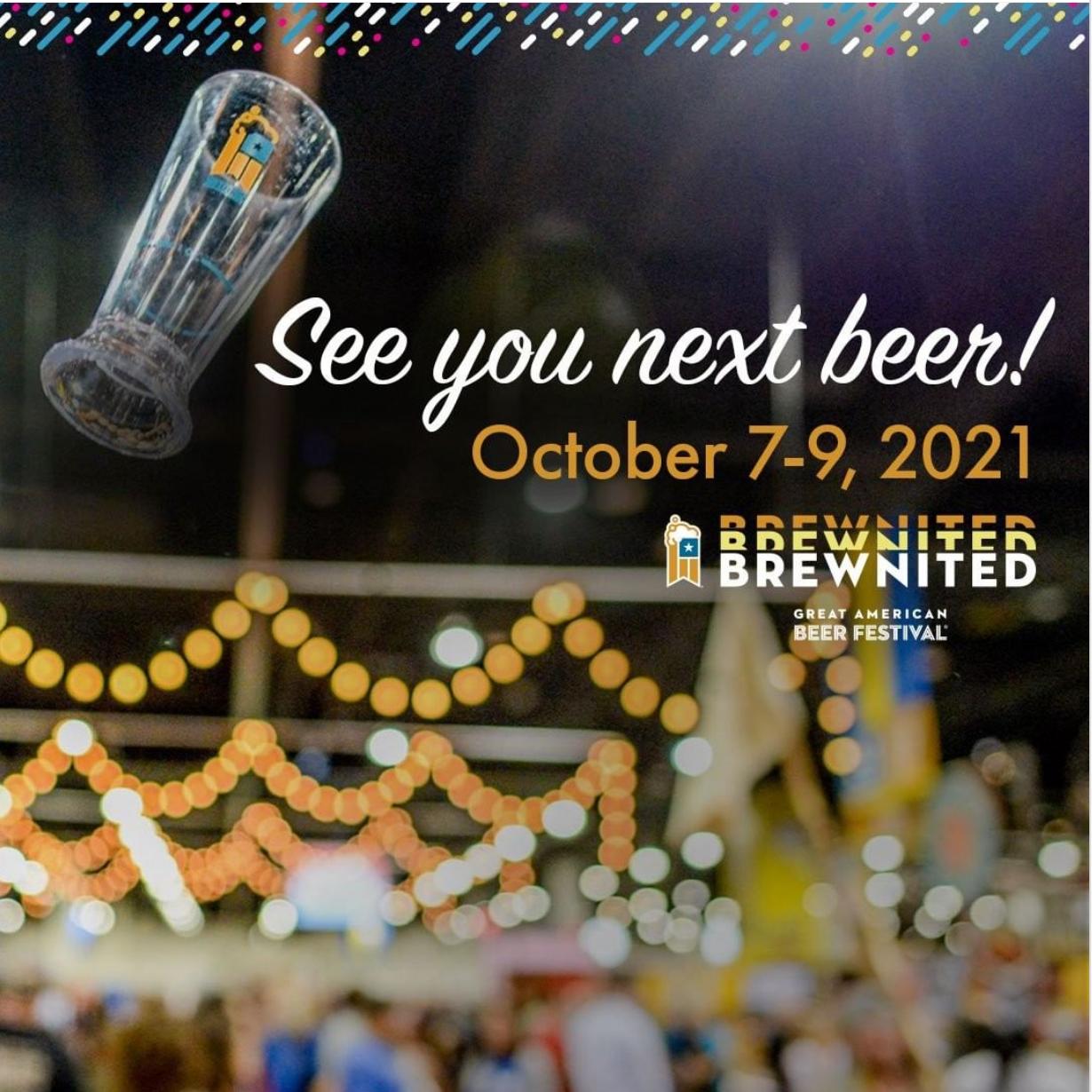 2021 Great American Beer Festival - October 7-9, 2021 - Denver, Colorado