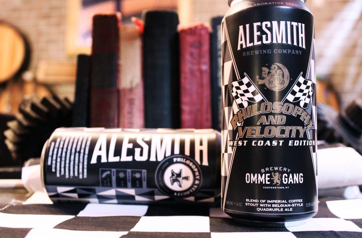 AleSmith x Ommegang Philosophy Velocity West Coast Edition