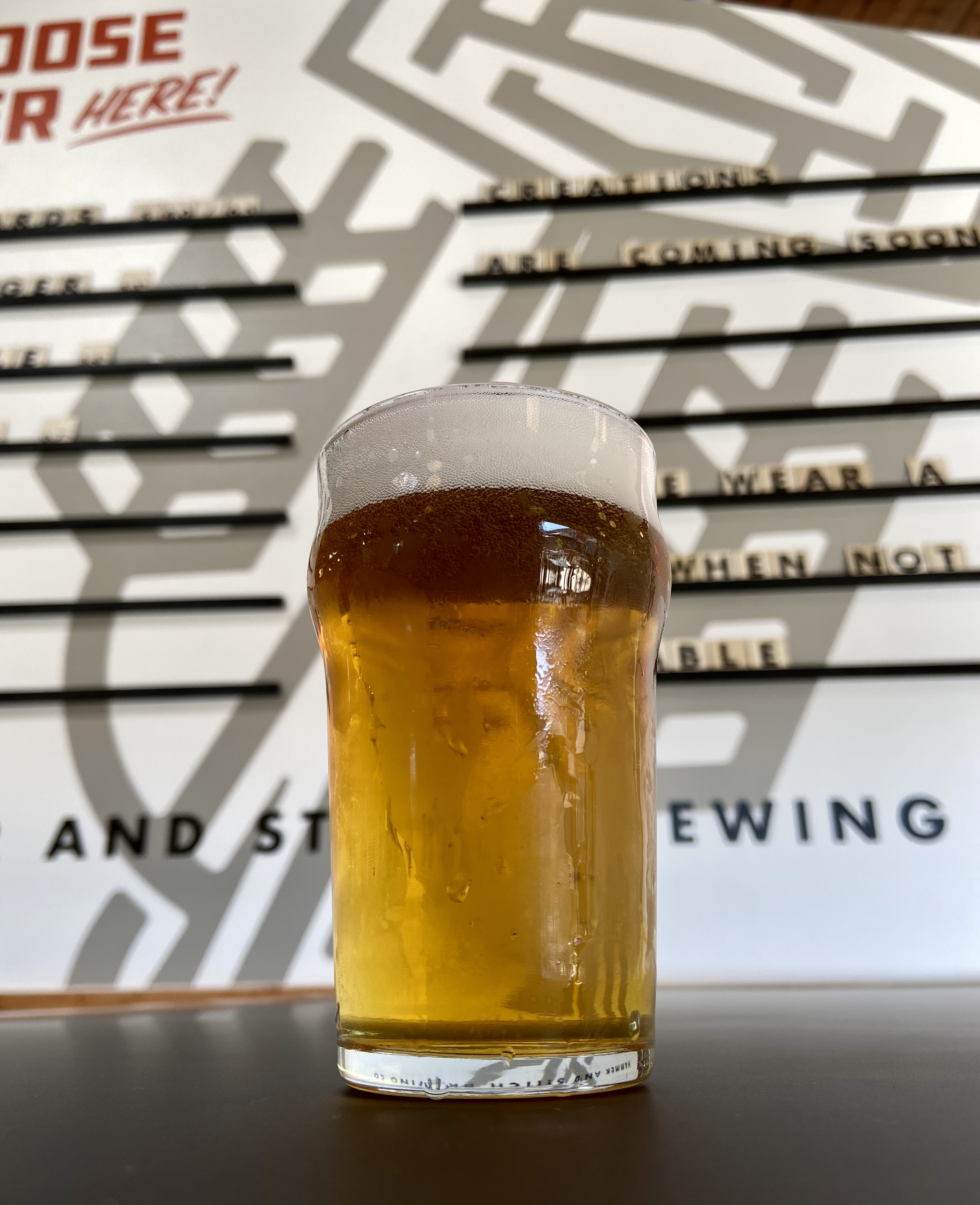 Approachable beers will be the focal point at Hammer & Stitch Brewing.