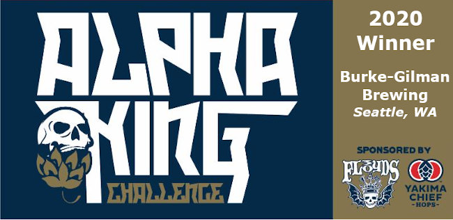 Burke-Gilman Brewing - 2020 Alpha King Challenge Champion